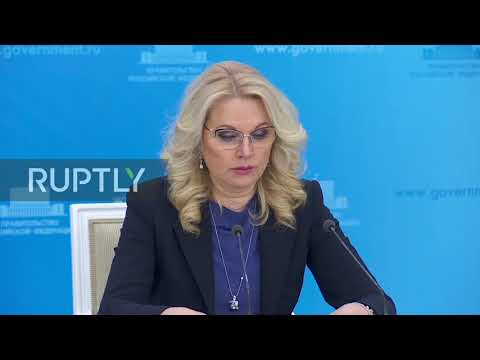 Russia: First two cases of coronavirus confirmed in Russia - Deputy PM Golikova