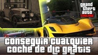 GTA V Online Conseguir todos los coches de todos los DLC GRATIS.! Roosevelt, Turismo R, etc..,