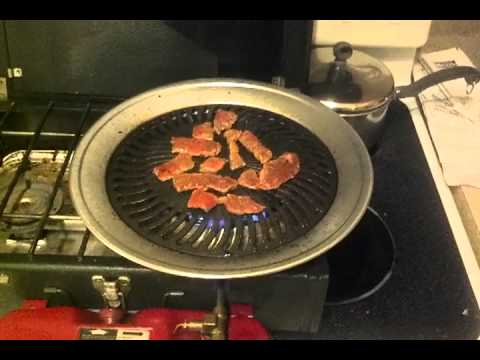 New stovetop grill - YouTube