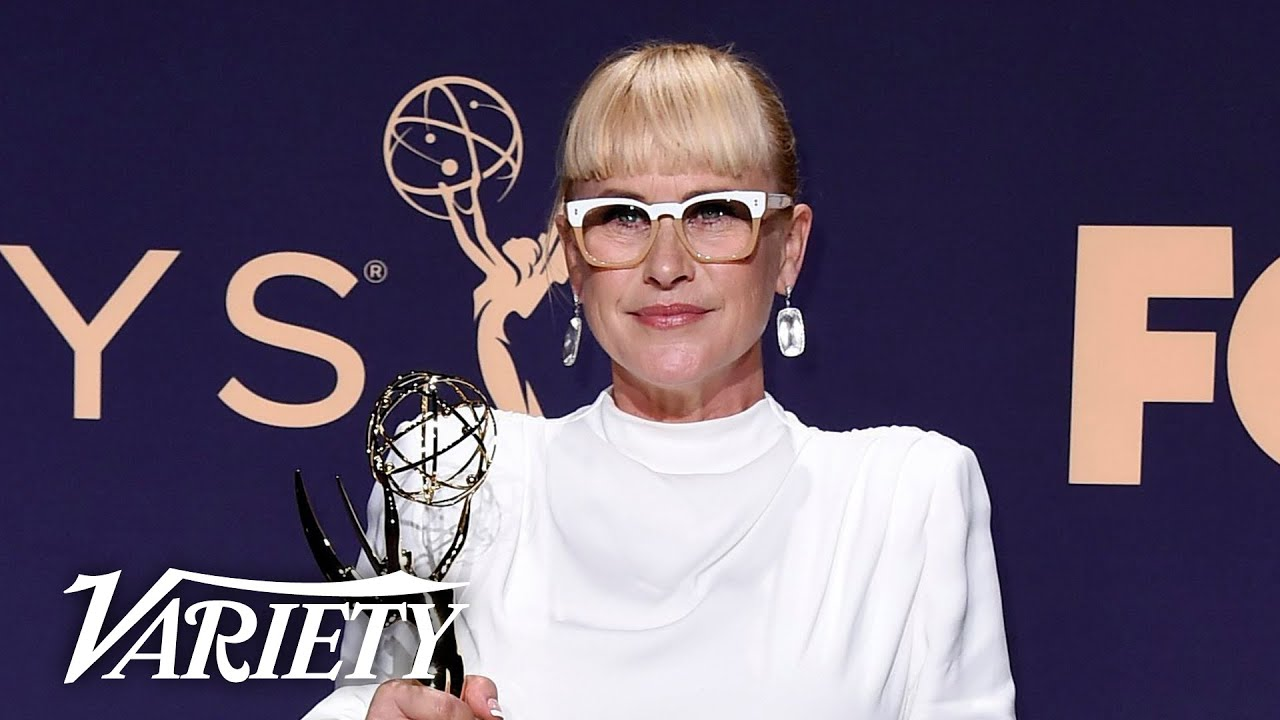 Patricia Arquette Advocates for Trans Rights Backstage at the Emmys