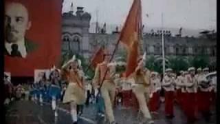 Парад пионеров 19 мая 1982 г. Красная площадь