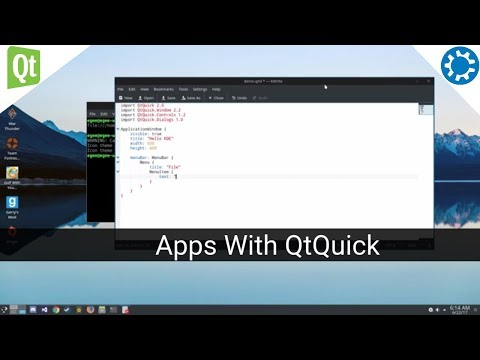 Create a Qt Framework Application Using QML & Qt Quick SDK