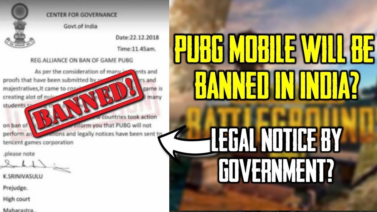pubg mobile ban in india or not