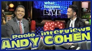 A Fun & Intimate interview with Andy Cohen!