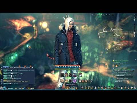 Blade and Soul Level 45 Assassin PvP!!