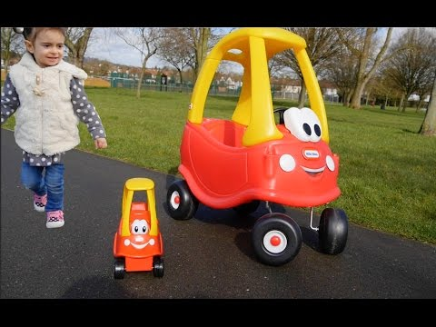 Mother & Baby COZY COUPE -Playing in the Park