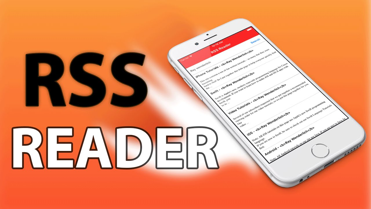 iOS Swift: Build an RSS Reader using Google's APIs and Parsing JSON