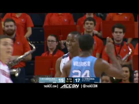 North Carolina vs Virginia College Basketball Condensed Game 2018