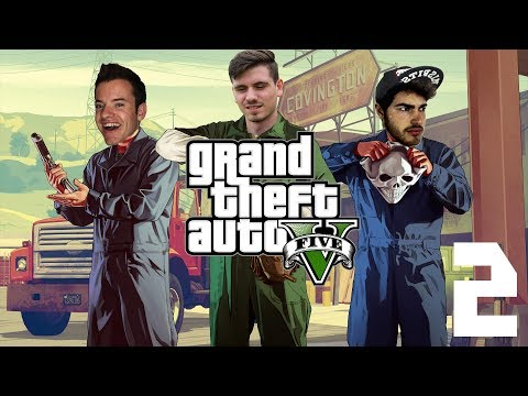 LOUIS THE JINX | GTA V - Part 2 with Ceri and James