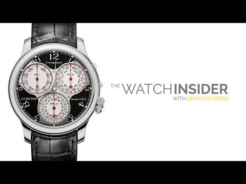 The Watch Insider | From the Vault Featuring F.P. Journe, Au