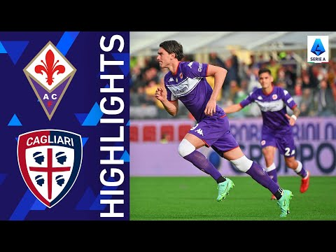 Fiorentina Cagliari Goals And Highlights