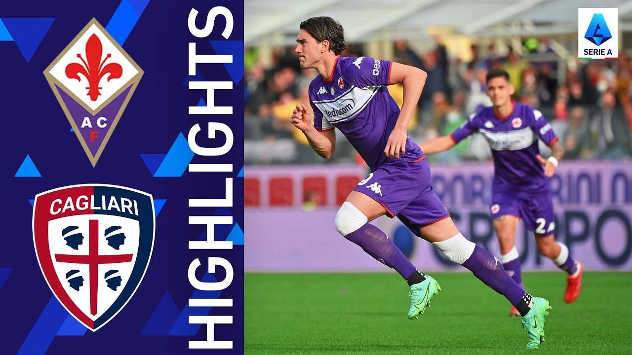Download Fiorentina 3-0 Cagliari | La Viola triumph at home | Serie A 2021/22