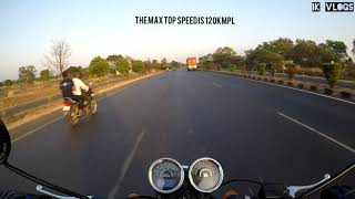 Riding the all new Thunderbird X350/Testing the top speed