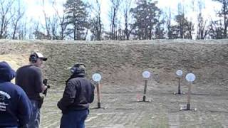 Static steel match 4-3-11 Rimfire Rifle Stages