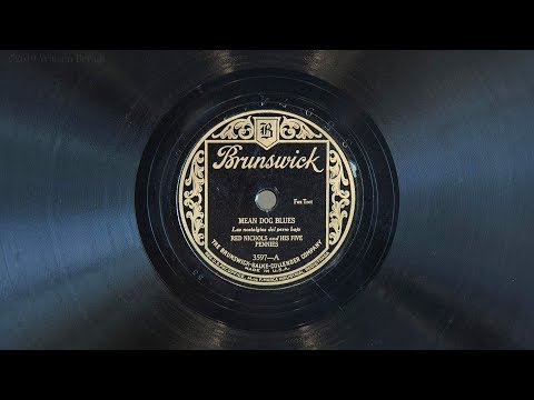 Mean Dog Blues •Red Nichols and his Five Pennies (EMG Mark IX Gramophone)