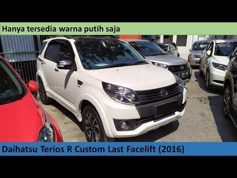 Daihatsu Terios R Custom Last FL (2016) review - Indonesia