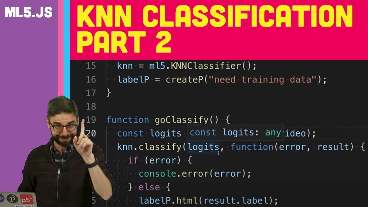 ml5 js: KNN Classification Part 2