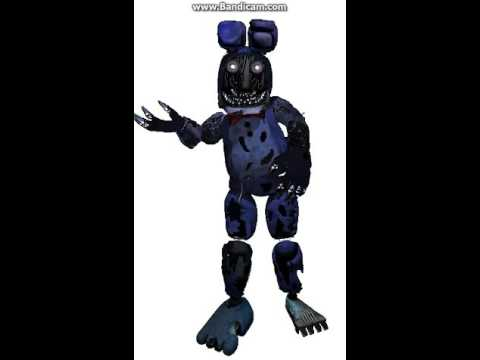Fnaf song Nightmare Withered Bonnie - YouTube