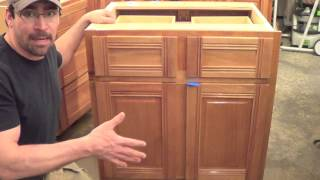 Building Kitchen Cabinets Part 18.  Starting The Wall Cabinets