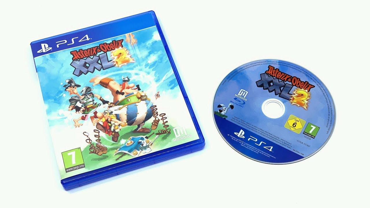Asterix Obelix Xxl2 Ps4 Unboxing 4k Youtube