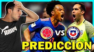 🇨🇴 COLOMBIA vs CHILE 🇨🇱 ELIMINATORIAS QATAR 2022 🏆 FECHA 10 ⚽ PRONOSTICO & PREDICCION