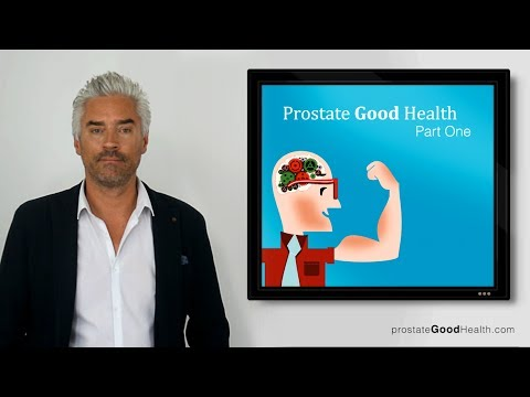 Prostate Good Health Part I : About your prostate and its function