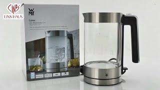 [LINSHAUS] Ấm Đun Nước Siêu Tốc Bằng Thủy Tinh WMF LONO GLASS KETTLE 1.7L - Made in Germany