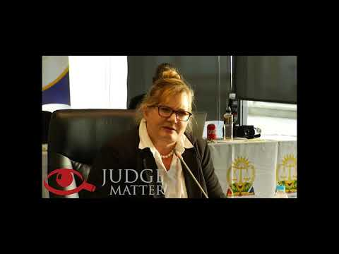 JSC interview of Ms O Van Papendorp for the Eastern Cape High Court (Judges Matter)