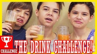 THE DRINK CHALLENGE!  |  KITTIESMAMA
