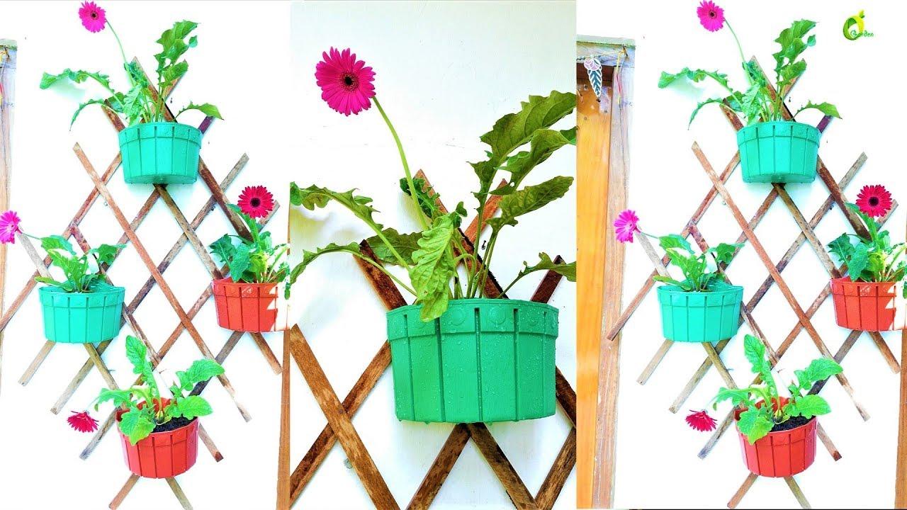 Wall Decor Plants Ideas Wood Waste Garden Mounted Planter Organic