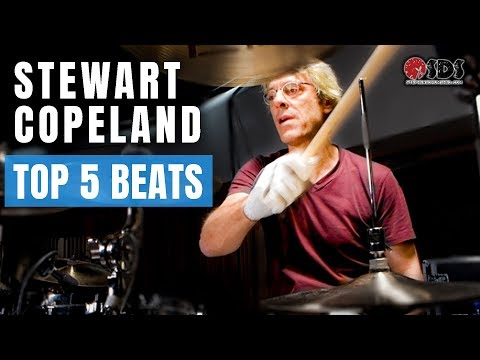Top 5 Stewart Copeland Drum Beats Every Drummer Should Know | Stephen Taylor Drum Lesson