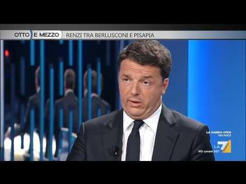 Matteo Renzi sui migranti: la gente preferisce la serietà di un ministro e non chi le spara ...