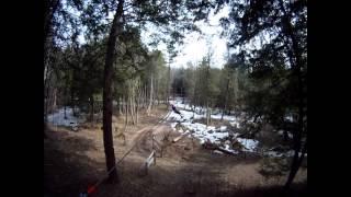 Tree Top Eco Adventure Park    Part 1   Zip Lining