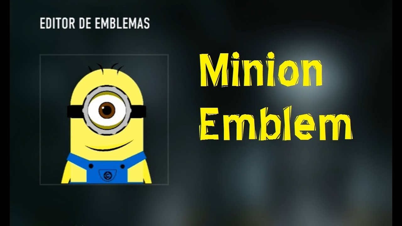 Minion despicable me emblem cod advanced warfare ps4 youtube minion despicable me emblem cod advanced warfare ps4 biocorpaavc Image collections