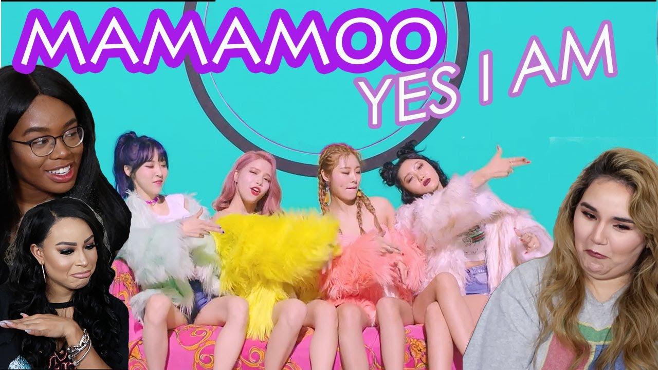 Mamamoo Yes I Am