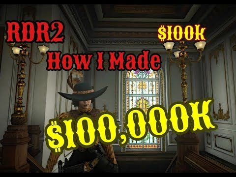 How I Made $100,000K On Red Dead Redemption 2 Online {RDRO} thumbnail