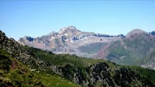 Le Pic et les lacs d´Ayous (Pyrénées)