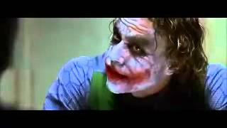 Il Cavaliere Oscuro   Dialogo tra Joker e Batman