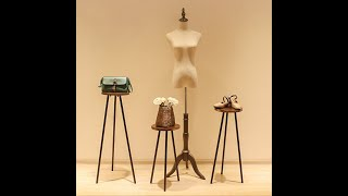 Clothing store decoration window display, decoration shelf, platform bag, shoe rack