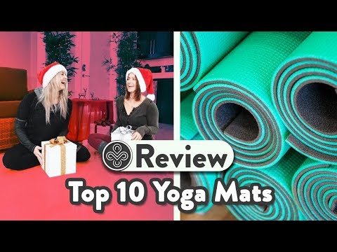 ULTIMATE Top 10 Yoga Mats Review | How to Choose A Yoga Mat | Holiday Special