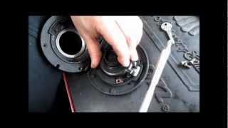 BMW Service - K75, K100, K1, K1100 Fuel Cap Rebuild