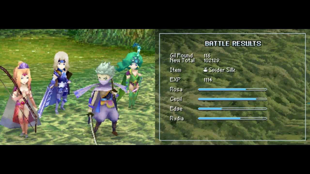 Final Fantasy Iv Ds Walkthrough 6 1 Part 30 Youtube