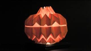 Origami Jack O' Lantern (Tomohiro Tachi) - Halloween