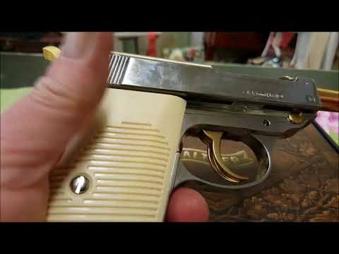 Walther P38 Co2 .177 SBB Gold-Chrom / 1 of 1200--SammlerStück by WPU