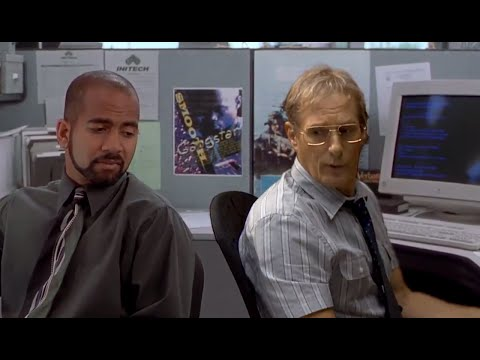 The ACTUAL Michael Bolton In Office Space | What's Trending Now