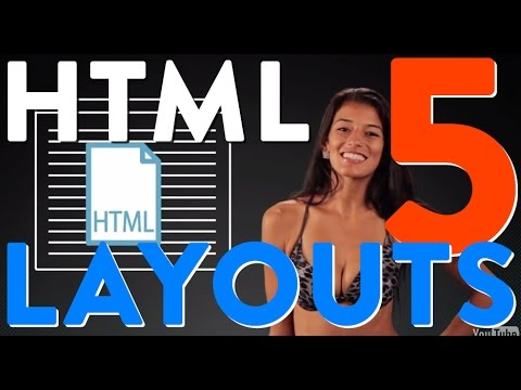 HTML Layouts With HTML 5