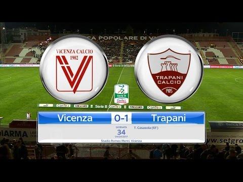 Highlights Vicenza-Trapani 0-1, 34^ Giornata SerieB 4.04.17 ©TrapaniCalcio.it