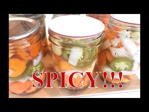 canning-spicy-pickled-carrots-with-linda's-pantry
