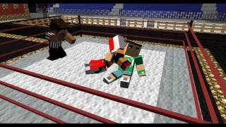 #1 RELOAD Minecraft WWE (John Cena VS Rey Mysterio) ANIMATION