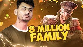 THANK YOU FOR 8 MILLION YOUTUBE FAMILY | HAIL HYDRA DYNAMIC ARMY
